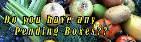 """Paying it Forward at Grateful Plains is an opportunity for you to contribute to a """"Pending Box"""" so that when we have enough extra, we purchase a box for donation to a local family in need who can call anytime and ask, """"Do you have any Pending Boxes?"""""""