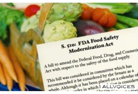 Food Modernization Safety Act