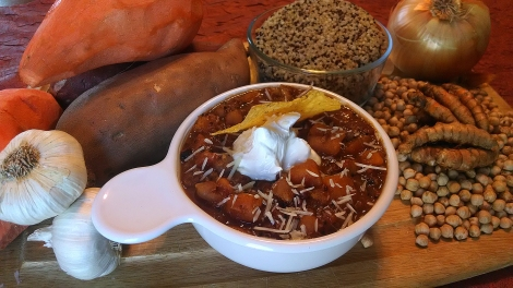 Yam Quinoa Chili Grateful Plains